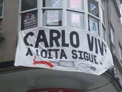 Sexto aniversario de la muerte de Carlo Giuliani