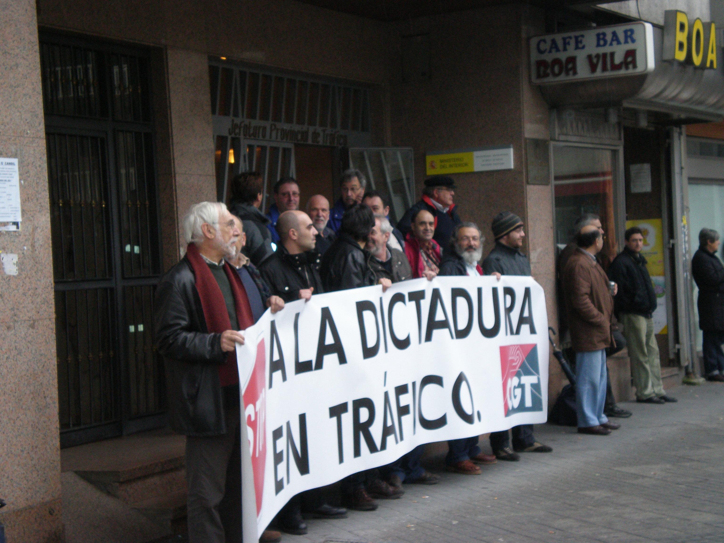 Mayo 2010 cgt de galicia for Oficina trafico vigo