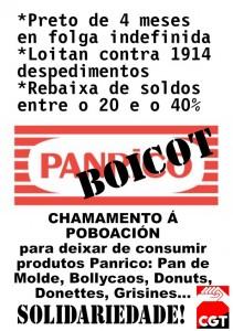 Boicot Panrico pequeño